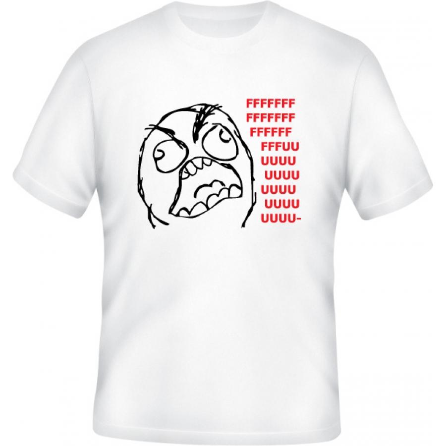 Tričko Rage Guy (Fuuu)