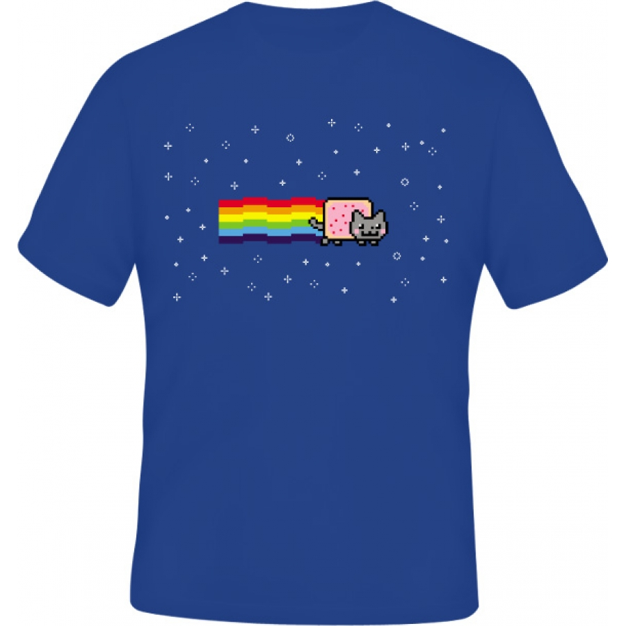 Tričko Nyan cat
