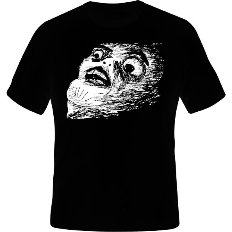 Tričko OMG Rage Face