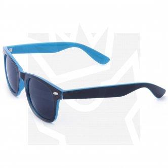 Sluneční brýle Wayfarer - černé - modré podbarvení