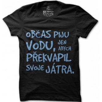 Vtipná textová trička