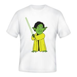 MEME tričko Yoda Maguire